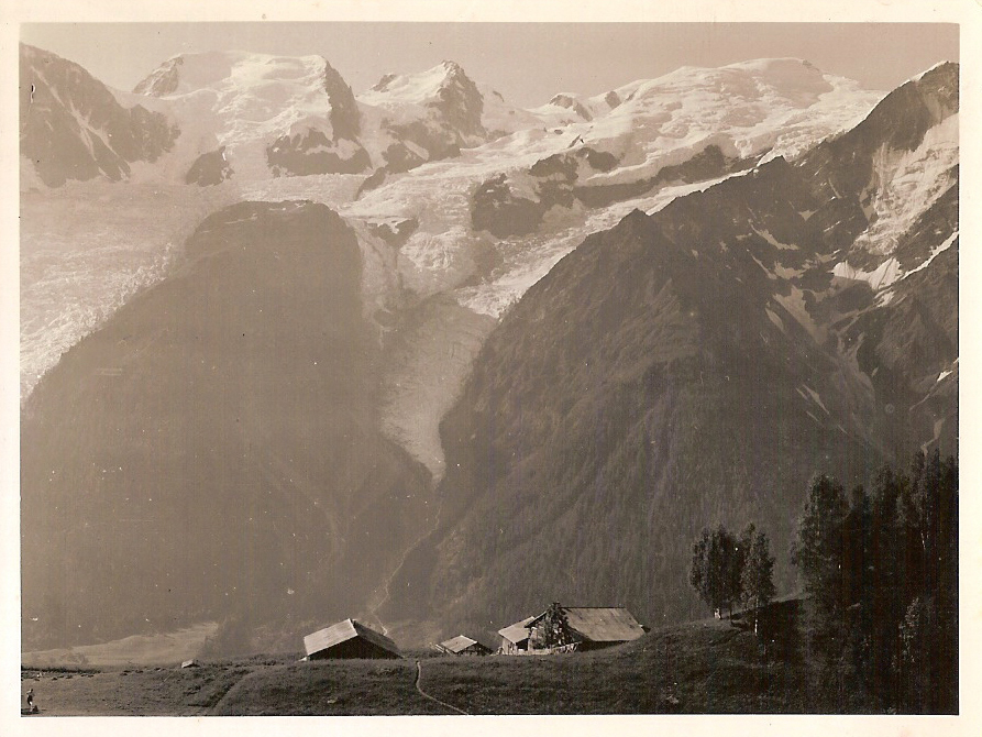 old photos of Merlet - Merlet and Mont Blanc