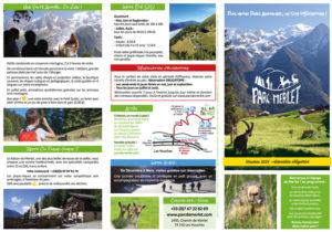 Parc de Merlet leaflet