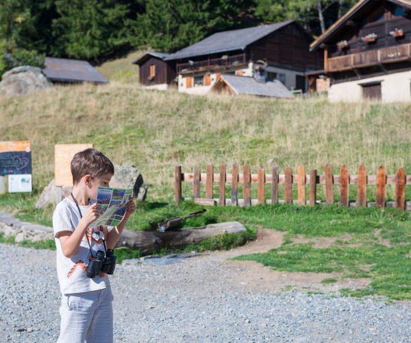 Découvrir le parc de Merlet aux Houches